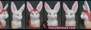Feminine padded full rabbit suit 2015 by Plus3Defense