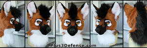 Maned Wolf by Plus3Defense