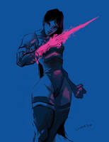 Psylocke by licarto