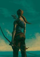 Lara Croft Survivor by licarto