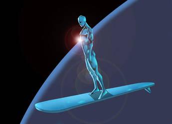 silver surfer by licarto