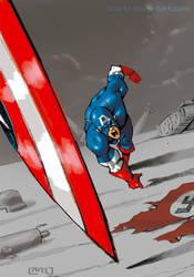 Captain America by licarto