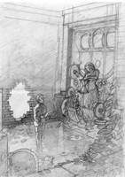 the time keeper's grave WIP by Absurdostudio-Krum