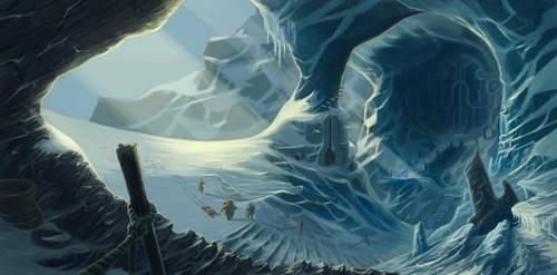 the ice gate by Absurdostudio-Krum