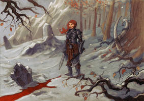 Skyrim fan art by Absurdostudio-Krum