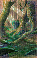 Jungle doodle by Absurdostudio-Krum
