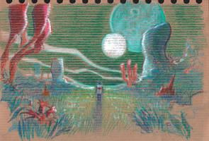 No Man's Sky doodle by Absurdostudio-Krum