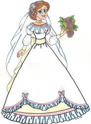 Western Rose Bride by CooperGal24