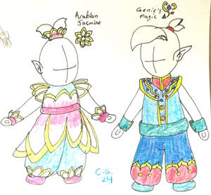 Arabian Baby Outfits by CooperGal24