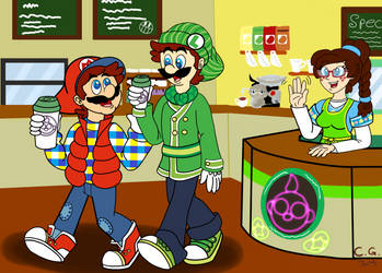 Day at StarBeans Cafe by CooperGal24