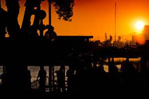 Marina Sunset by NoltaN