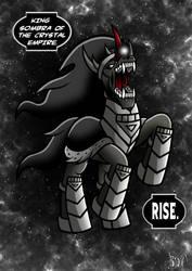 Black Lantern King Sombra by Berty-J-A