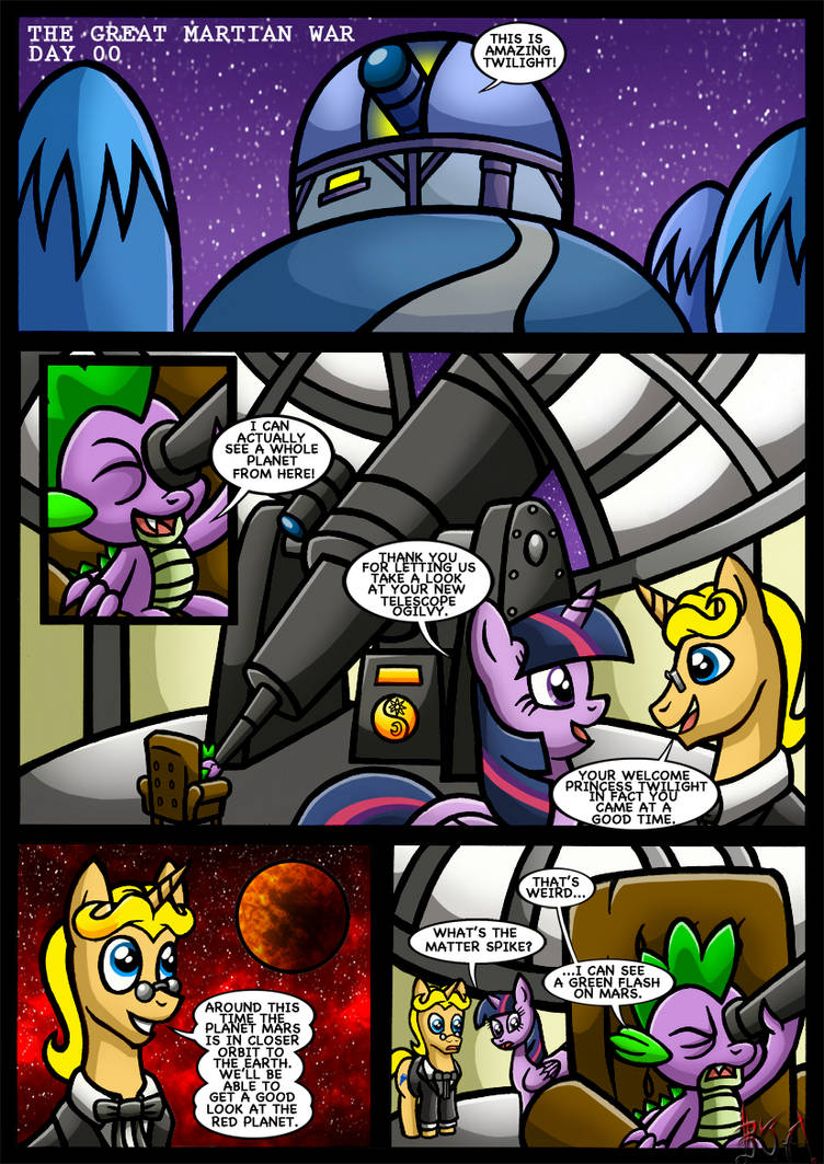 Equestrias War Of The Worlds Page 1 By Berty J A On Deviantart