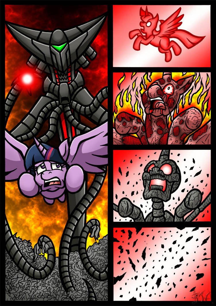 Equestrias War Of The Worlds Page 4 By Berty J A On Deviantart