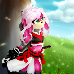 Completed Dandilion Field by SonicNyx