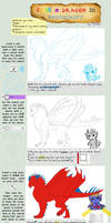 How to color a dragon in PS by Galidor-Dragon