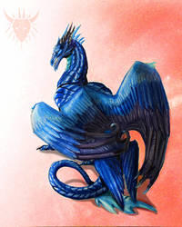 Bluerrion -trade- by Galidor-Dragon
