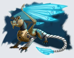 Guardian Dragon by Galidor-Dragon