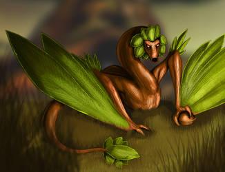 Deku Dragon by Galidor-Dragon