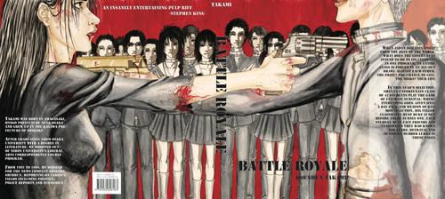Battle Royale Bookcover by valdorien