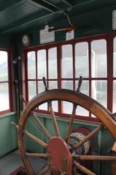 Steam Wheel Paddle Boat Vintage Steering by lonnietaylor