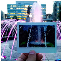 Park Fountain Instant by lonnietaylor