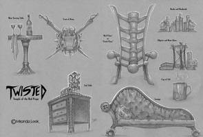 Twisted Props: Temple of the Red Props by RedCoaster