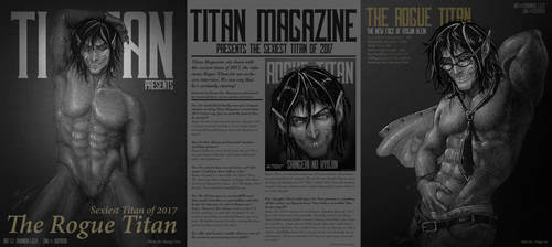 Titan Magazine Interior by RedCoaster