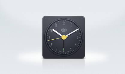 Braun Clock by benrulz
