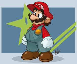 Super Mario Star by AndrewDickman