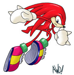 Knuckles beta by AndrewDickman