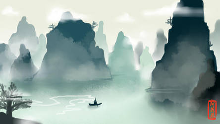 The foggy journey by matsukichii