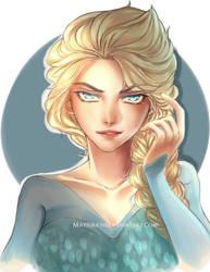 Queen Elsa by matsukichii