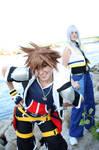 Kingdom Hearts II - RikuxSora by Evil-Uke-Sora