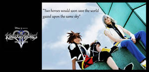 Two heroes under the same sky by Evil-Uke-Sora