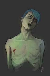 Zombie Boy by amakamisora