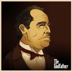 Don  Vito Corleone by DapperNoir