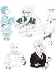 Sketch Slots 01 by DapperNoir