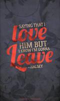 [TYP] Halsey by abcdefgeliney