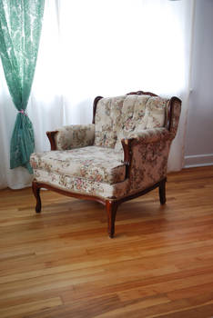 Flower's chair 1 by Yukkabelle