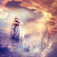 My Kingdom in the Clouds by Brumae-Art
