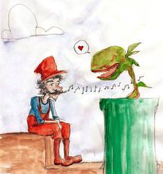 Mario by captainAurelie