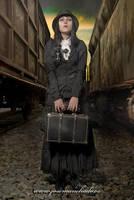 Rosalie - waiting the train by josemanchado