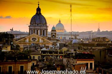 Rome burns - Arde Roma by josemanchado