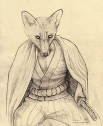 Body of a fox by Nimphradora