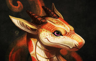 Corn snake dragon by Nimphradora