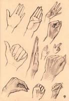 Hand study by Nimphradora