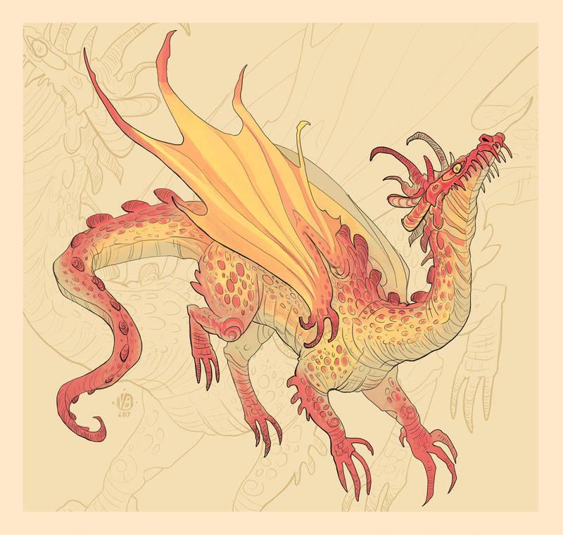 21.12. dragon by Nimphradora