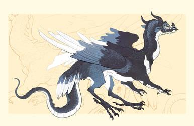 23.12. dragon by Nimphradora