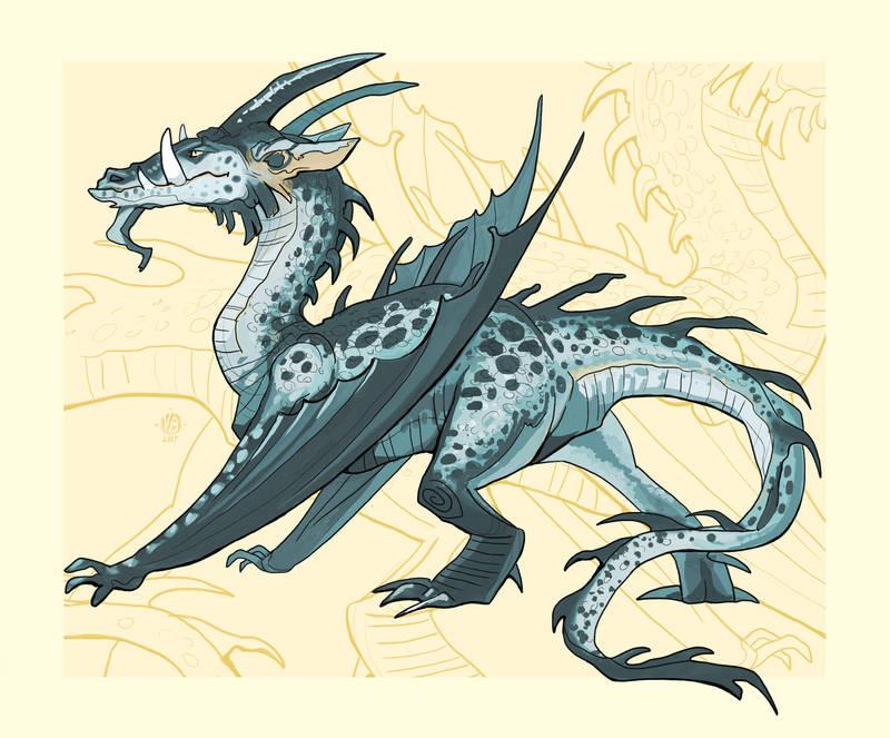 2.1. dragon by Nimphradora
